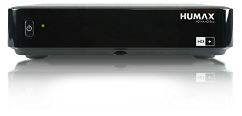 HUMAX Digital HD Nano Eco Satelliten-Receiver (HDTV, USB, PVR Funktion, geringer Stromverbrauch) inkl. HD+ Karte für 12 Monate, schwarz