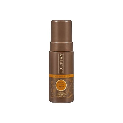 Body Drench Quick Tan Instant Self Tanner Bronzing Mousse - Medium/Dark 4.2oz (2 Pack)