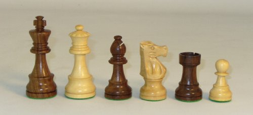 Chopra Medium Sheesham French Chess - French Pieces Knight Chess