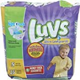 Health & Personal Care : Luvs Diapers Ult Lkgrd Size 5