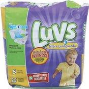 Luvs Diapers Ult Lkgrd Size 5