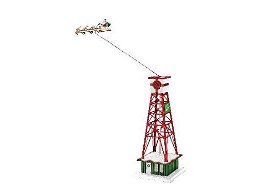 Lionel 685412 Plug-Expand-Plug Santa's Sleigh Pylon, O Gauge, Green, Red, White, Tan, Brown