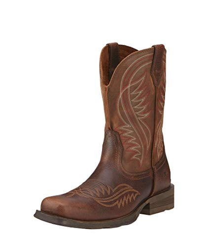 ARIAT Rambler Revival Western Boot Plank Brown Size 8.5 D/Medium US