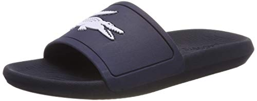 Lacoste Men's Croco 119 1 CMA Sliders, Blue, 9 US for sale  Delivered anywhere in Canada