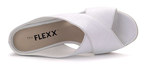 Flexx Girl Femme Sabot Blanc The Talon Cross aU1apn
