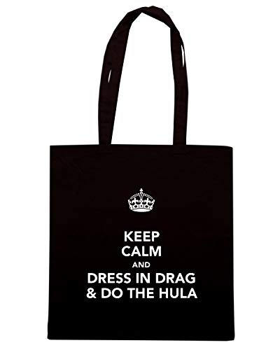Nera amp; TKC2538 CALM KEEP THE DRAG AND Shirt Shopper DO Borsa HULA Speed IN DRESS qSwxtPagY