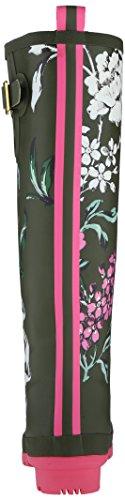 Joules U_Wellyprint, Women's Wellington Boots Green (Grape Leaf Floral)