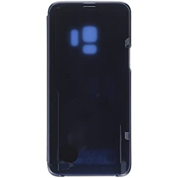 half off 038b5 dfb3f Amazon.com: Samsung Galaxy S9 S-View Flip Case with Kickstand, Blue ...