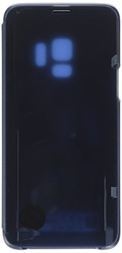 Samsung Galaxy S9 S-View Flip Case with Kickstand, Blue