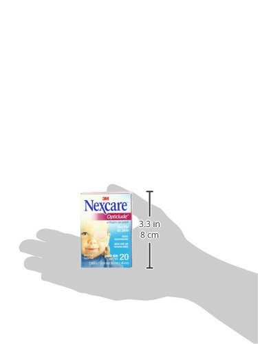 Nexcare Opticlude Orthoptic Eye Patches, Junior Size, 20-Count Boxes (Pack of 4) by Nexcare (Image #6)