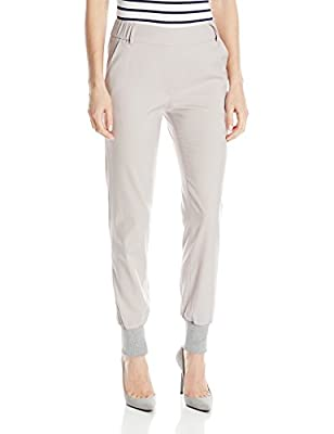 James Jeans Women's Track Elastic-Waist Pull-On Pant by James Jeans Women's Collection