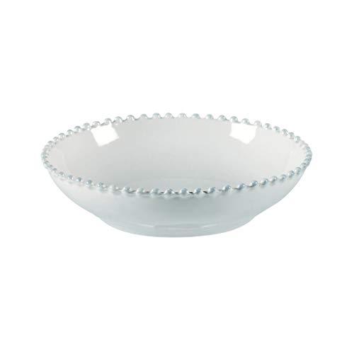 COSTA NOVA Pearl Collection Stoneware Ceramic Pasta Bowl 9.25