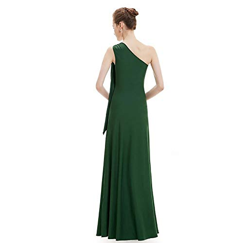 Vestito Auming Scollo Red Size Con Da Xl V Lunghe Donna Lungo Amry Damigella Maniche E A Sera D'onore color Green Unisex dqPrBqa