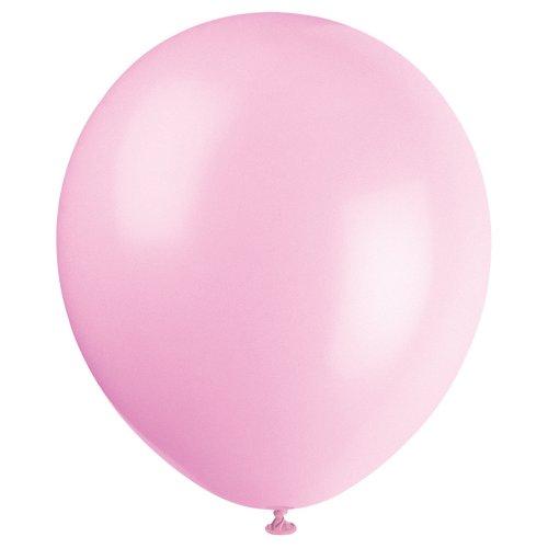 Latex Petal Pink Balloons 10ct