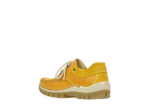 Wolky Comfort Lace up Shoes Fly 20910 Corn (Yellow) Leather fIIIsKlrlE