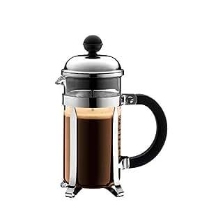 Bodum 1923-16US4 Chambord French Press Coffee and Tea Maker, 12 Oz, Chrome