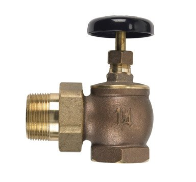 B & K Steam Radiator Valve 1-1/4