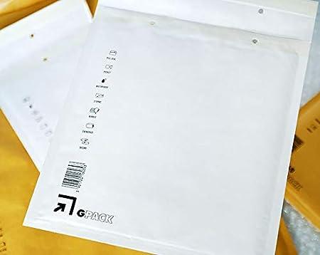 Luftpolstertasche G7 braune Versandtasche DIN A4+ verschiedene Mengen w/ählbar 100 Luftpolsterumschl/äge 250 x 350 mm