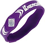 Energy Force Wrist Band (Purple with White, Large)