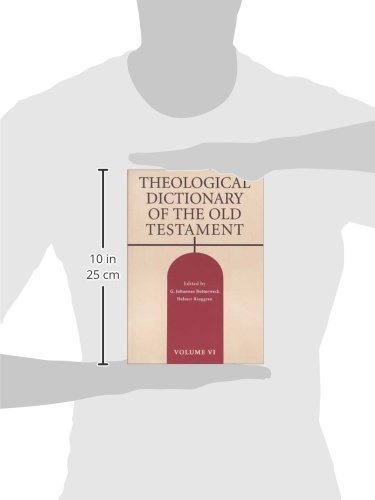 Theological Dictionary of the Old Testament, Vol. 6 by Eerdmans