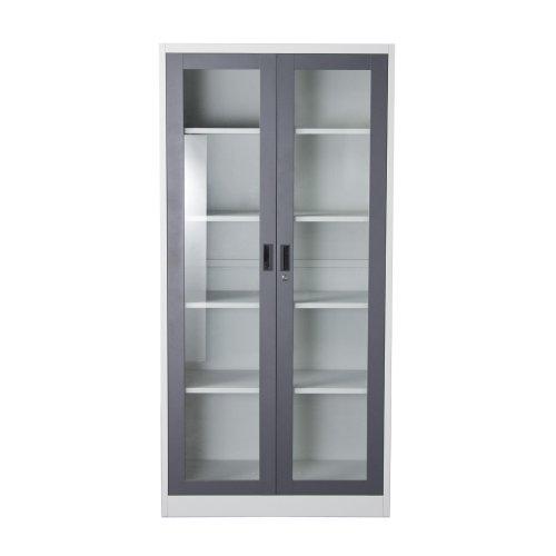 (2 Door Bookcase )