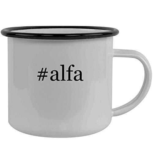 #alfa - Stainless Steel Hashtag 12oz Camping Mug