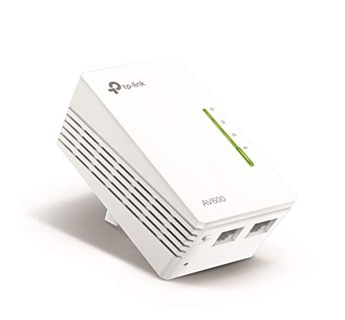 TP-Link AV600 Powerline WiFi Extender - N300 WiFi, Add-on Single Adapter, Ethernet over Powerline, Plug & Play, Compatible with all TP-Link powerline adapters with different speed(TL-WPA4220)