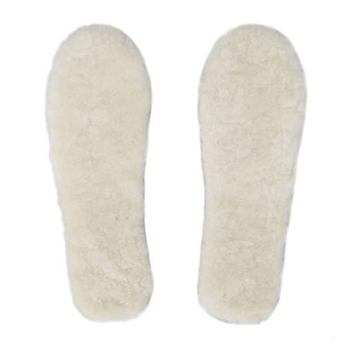 - Bonjanvye Winter Warm Sheepskin Insole for Kids-11