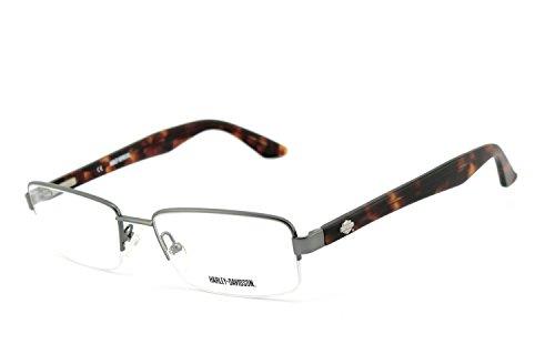 Harley-Davidson - Montures de lunettes - Homme multicolore Havanna, Chrom / Silber