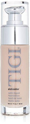 TIGI Satin Liquid Foundation for Women, Alabaster, 1 Ounce -