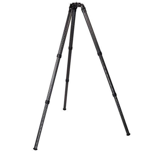 ProMediaGear Pro-Stix 3-Section Carbon Fiber Tripod with 42mm Diameter Legs, 125 lbs Capacity, 58'' Max Height