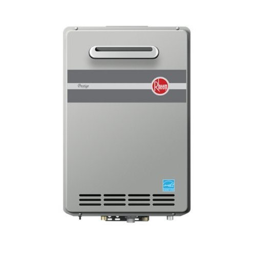 Rheem RTGH-95XLP Prestige Propane Outdoor Whole House Low NOx Condensing (Gallon Residential Direct Vent)