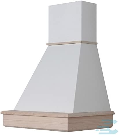 Campana clásica en stock 60 rústica, madera de fresno en bruto, motor C52: Amazon.es: Hogar