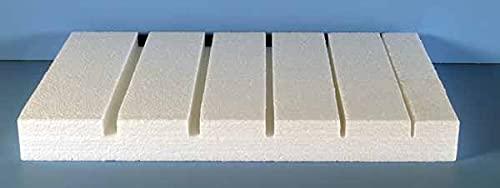 Five Slot Insect Butterfly Mounting Spreading Board, polystyrene Foam, 11″ Long x 17″ Wide (28 x 43 cm)