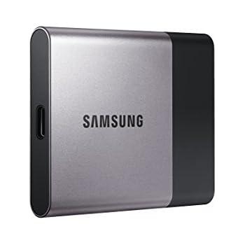 Samsung T3 Portable SSD - 250GB - USB 3.1 External SSD (MU-PT250B/AM)
