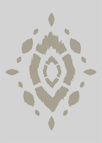 (Acacia Ikat Accent Home Decor Stencil)
