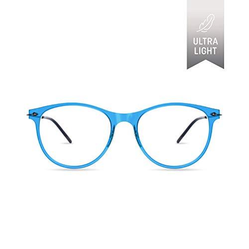 2156aed127b1 SQV i-FIT 103 Ultralight Screwless Glasses Frames - Clear Lens  Non-Prescription Eyeglasses