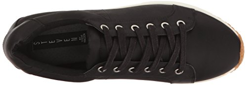 Steven Da Steve Madden Womens Sbavatura Moda Sneaker Nero