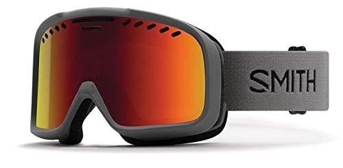 Smith Optics Project Medium Mens Snow Goggles (Charcoal/Red Sol-X Mirror)