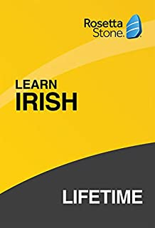 Rosetta Stone: Learn Irish with Lifetime Access on iOS, Android, PC, and Mac [Activation Code by Mail] (B07HGBM69G) | Amazon price tracker / tracking, Amazon price history charts, Amazon price watches, Amazon price drop alerts