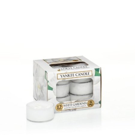 Yankee Candle White Gardenia Tealights (Box of (Tealight Candle Box)