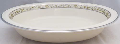 Lenox Springdale (Platinum Trim) Oval Vegetable Bowl