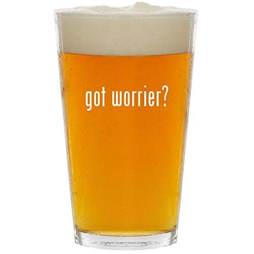 Road Warriors Costumes Wwe - got worrier? - Glass 16oz Beer