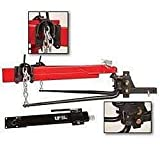 Ultra-Fab Products 35-946236 Round Bar Weight Distribution Hitch with Sway Control and Hitch Ball - 1000 lb. Capacity