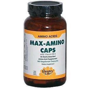 Max-Amino Caps 180 capsules