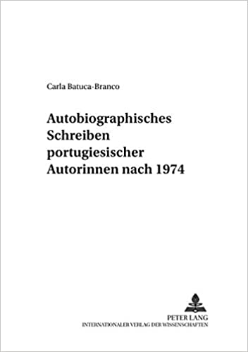 Book Autobiographisches Schreiben Portugiesischer Autorinnen Nach 1974 (Inter-Lit, )