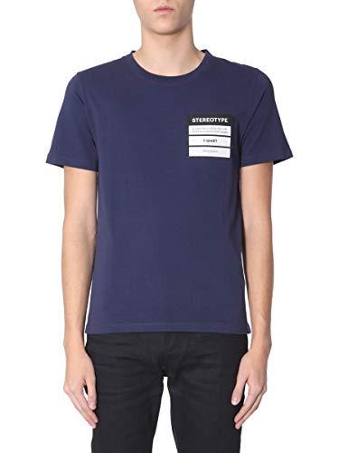 Maison Homme T Coton S50gc0538s22533478 Bleu shirt Margiela 44w7rWxqTS