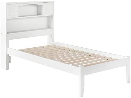 Hillsdale Furniture Morris Bed Set with with Rails, Twin, Magnesium Pewter