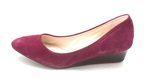 Xavierresam Closed Lila Cole Haan Wedge Womens Wildleder Pumps Toe IWEnPq8w