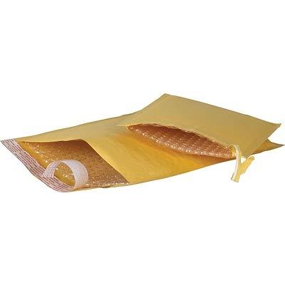 Self-Seal #0 Bubble Mailers, Easy-Open Tear-Tab, Kraft, 5-7/8 x 8-3/4-25/Carton (6 - Mailers Open Easy Bubble